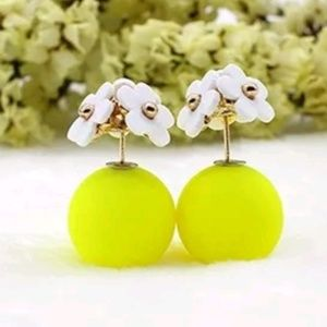 double sided ball flower gold